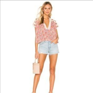 NEW Free People Leilani Blouse in Ivory
